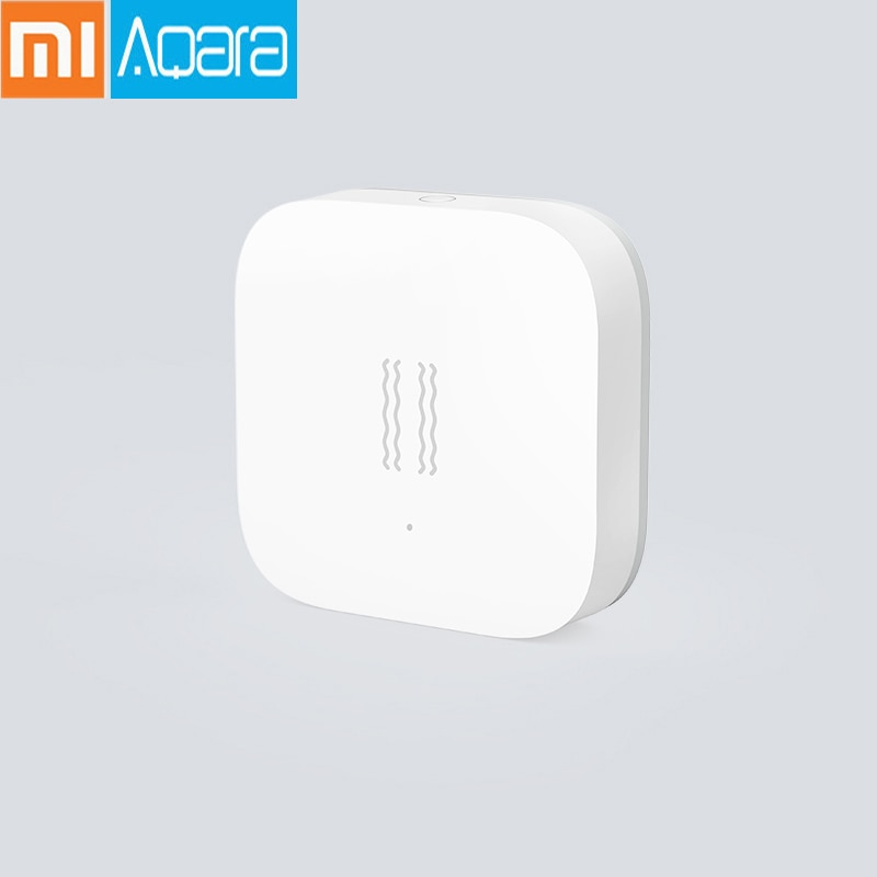 100% Original Xiao mi mi jia Aqara Vibration/Shock Sensor Gebaut In Gyro Motion Sensor Für mi Hause App