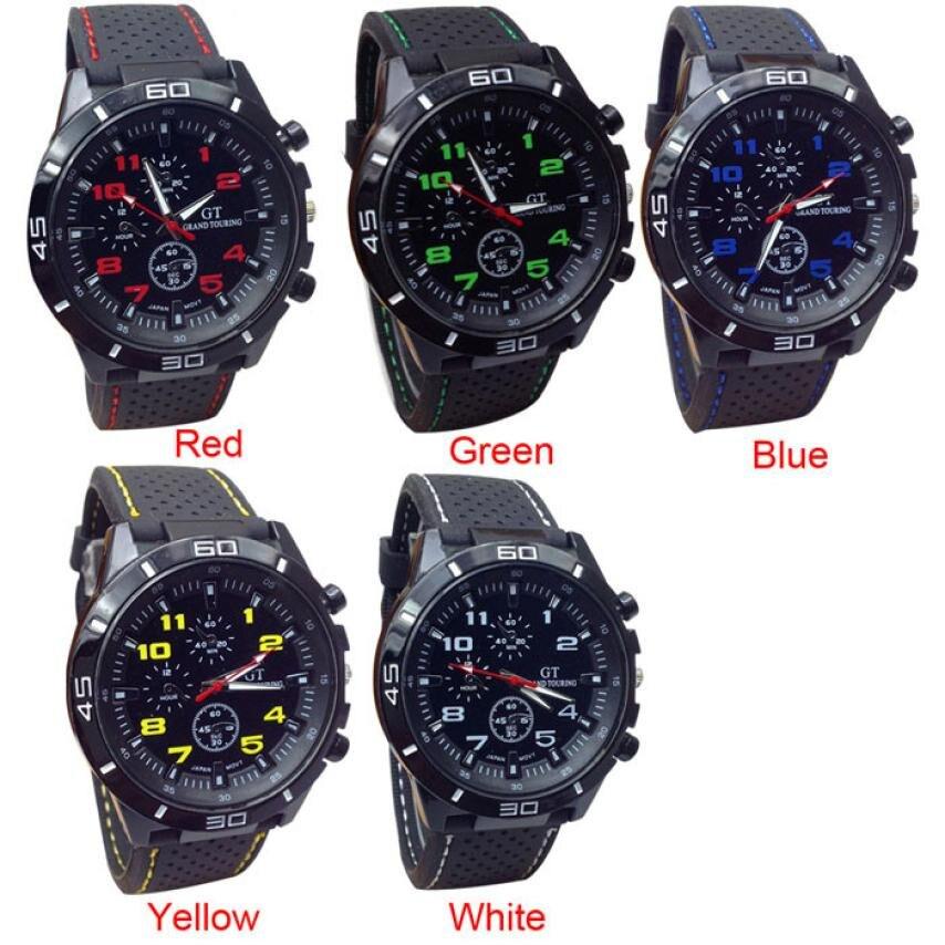 Reloj Retro de cuarzo para hombre, reloj de pulsera deportivo de silicona para reloj de pulsera Naviforce