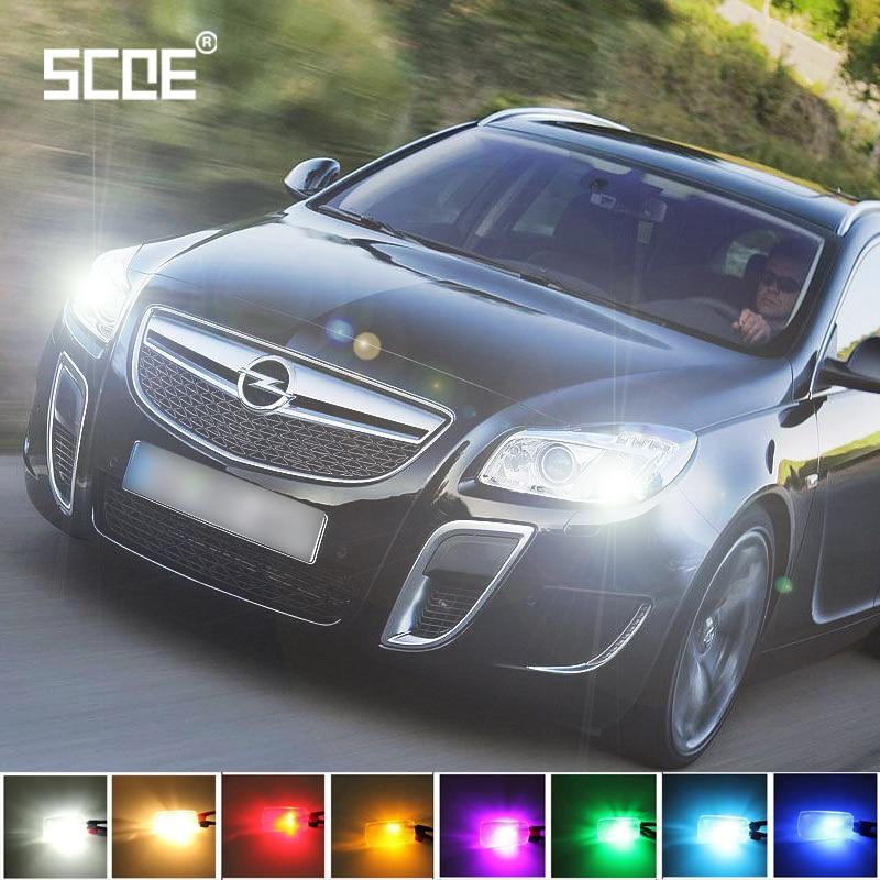 Envío Gratis para Opel Insignia 2 uds SCOE 30SMD LED luz delantera de aparcamiento y luz diurna corriente DRL fuente de luz estilo de coche