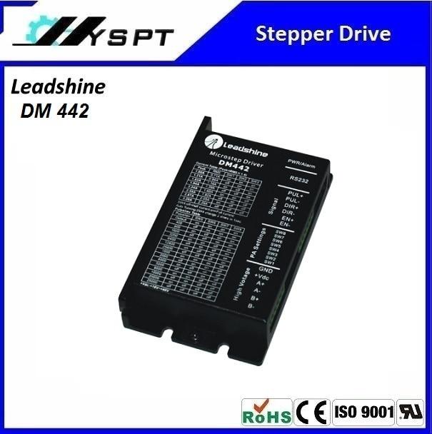 Best price! Leadshine stepper motor driver  DM442 2 Phase Digital Stepper Drive Max 40 VDC / 4.2A