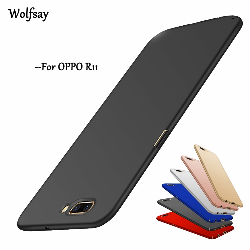 Wolfsay PC Case For Oppo R11 Cover Ultra Thin Silm Luxury Hard Case For Oppo R11 Case For OPPO R11 S