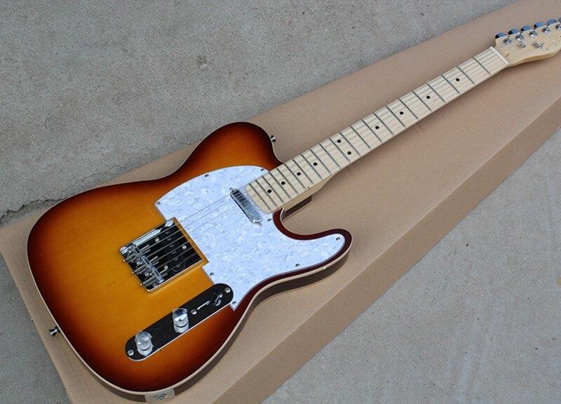 LT electric guitar 6 string instrument mahogany finger plate professional Sunglasses guitar brand TV broadcasting