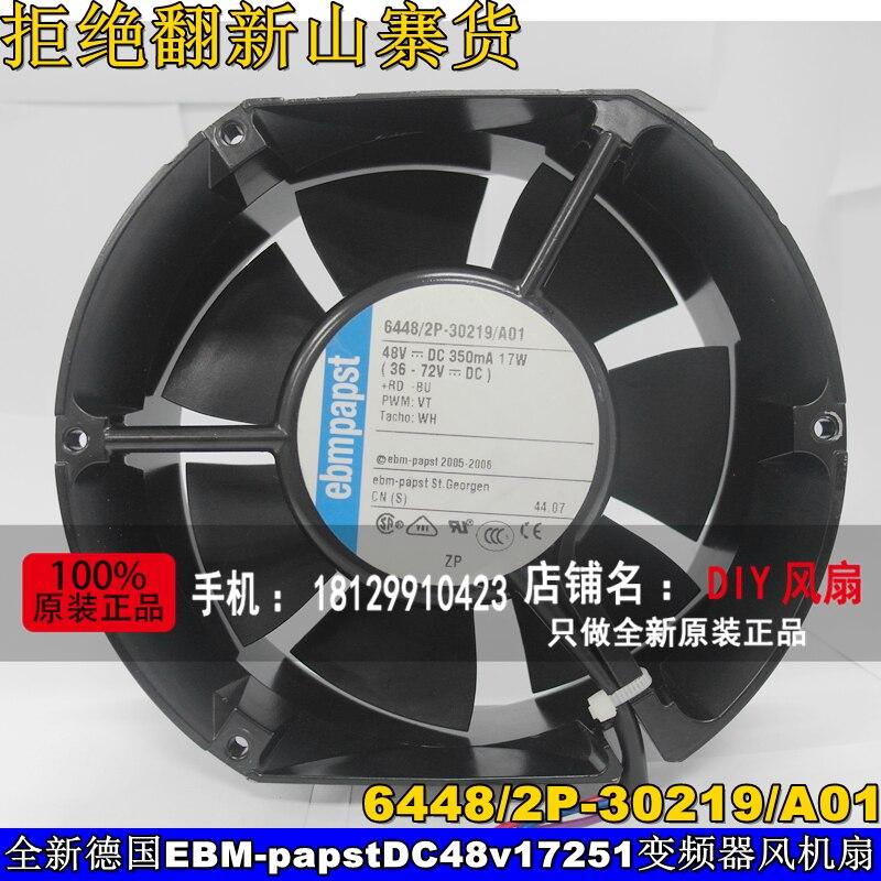 Nouveau pour EBMPAPST 6448/2P-30219/A01 48 v 17251 convertisseur de fréquence ventilateur de refroidissement