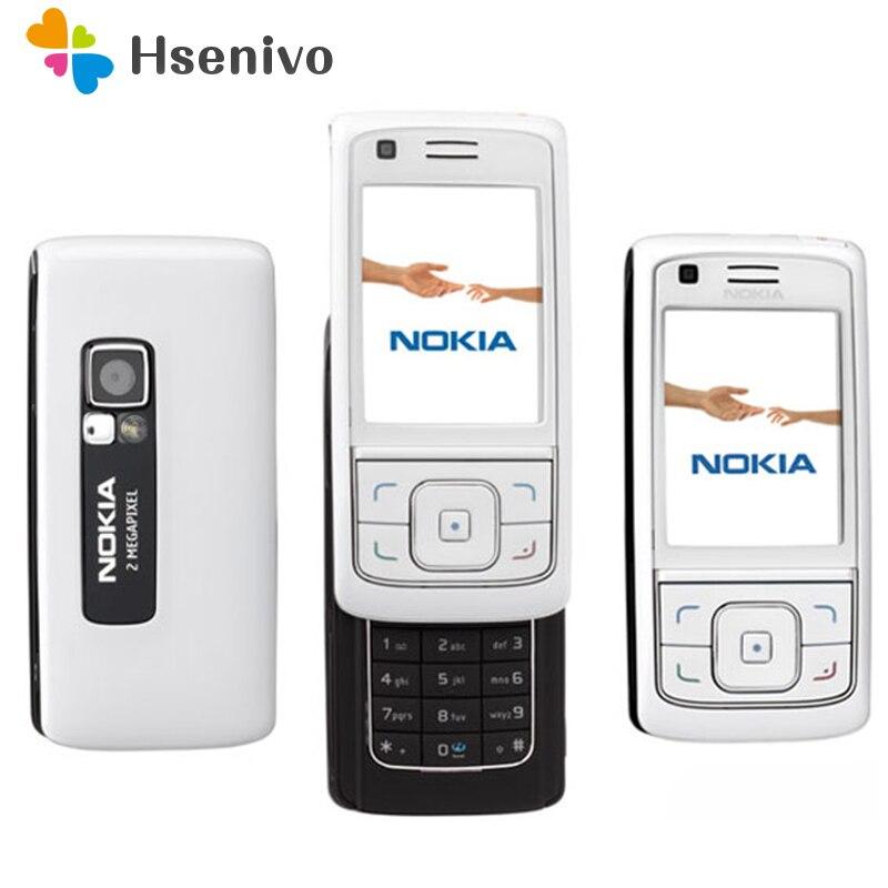 """Nokia 6288 desbloqueado original, telefone celular 100% """"polegadas gsm 3g com rádio fm bluetooth frete grátis, frete grátis"""