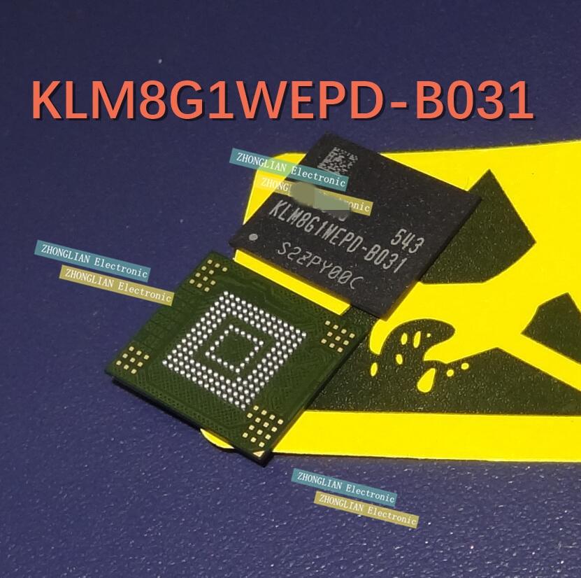 1pcs   KLM8G1WEPD-B031 BGA-153 8G1WEPD new original