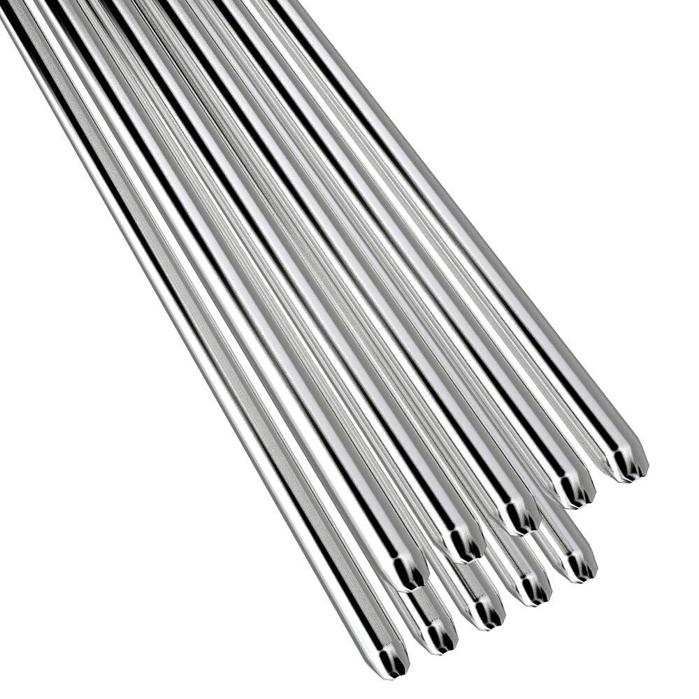 5/10 шт легкие алюминиевые сварочные стержни низкая температура 1,6/2 мм 50 см не нужен порошковый припой легкий малый объем легко изгибаемый LB