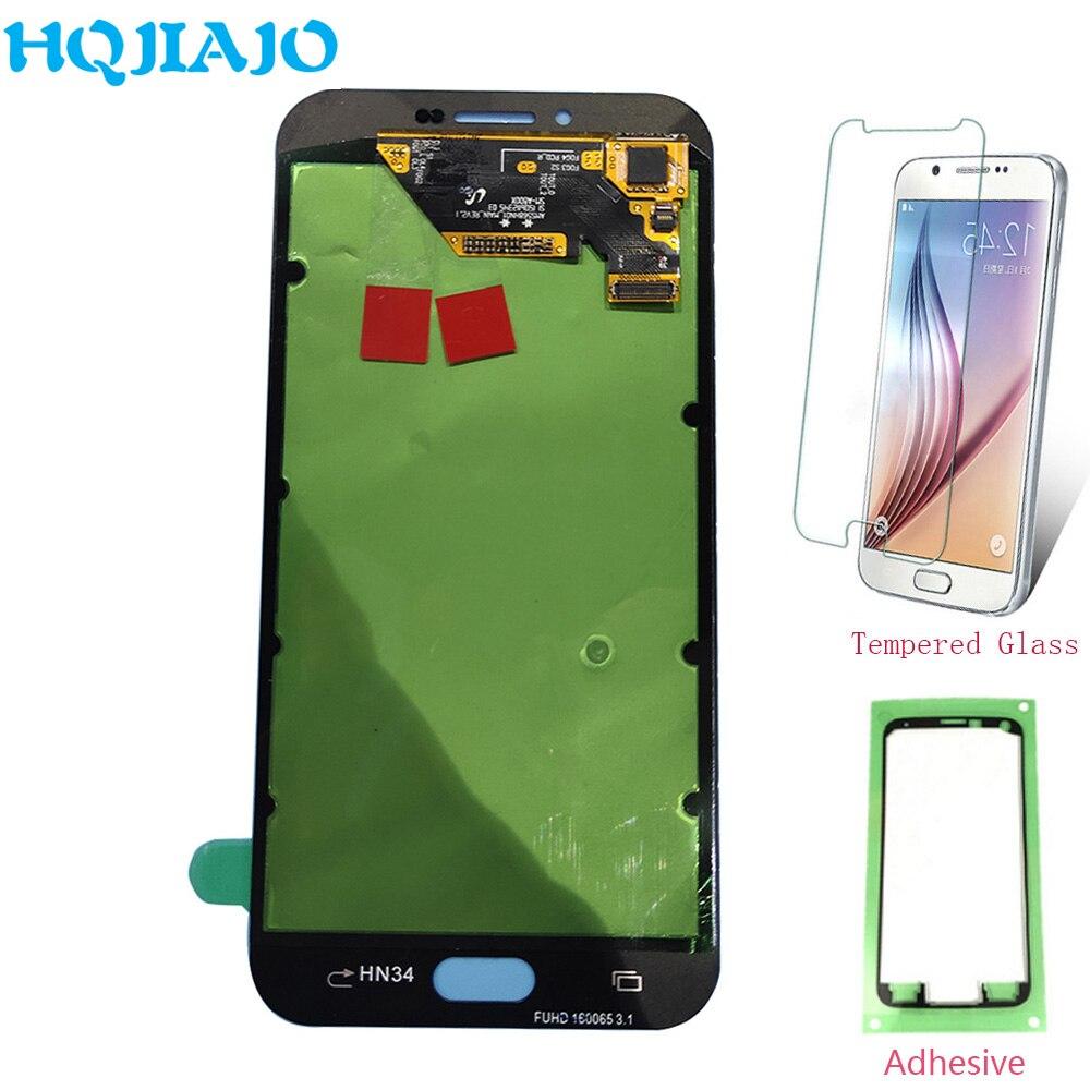 Super AMOLED LCD pantalla para Samsung A810 Digitalizador de pantalla táctil + LCD de pantalla para Samsung Galaxy A8 2016 A8100 A810 LCD de montaje