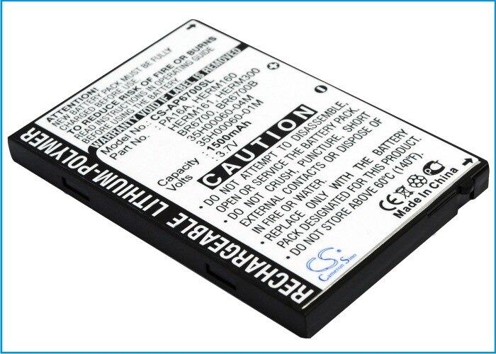 Cameron Sino 1500 mah bateria para Alltel PPC6700 BTR6700B BTR6700 CINGULAR 6500 DOPOD 838 Pro O2 XDA Trion VERIZON XV6700