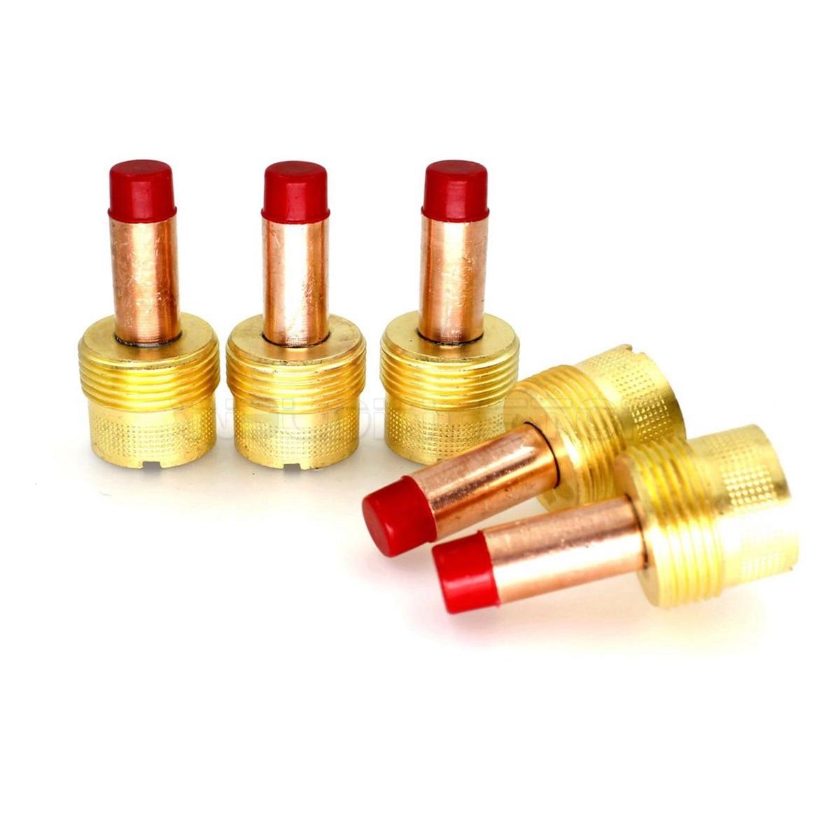 995795 TIG soldar Gran lente de Gas Cuerpo de 3,2mm para WP-17 18 26 antorcha PKG/5