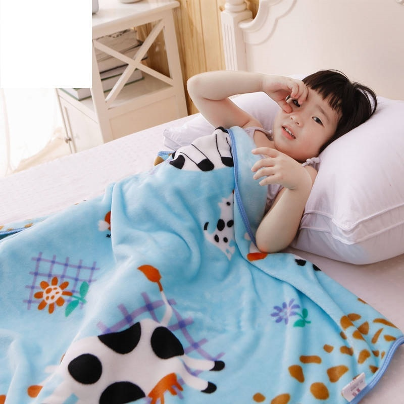 Multi-use Summer Baby Blanket Thin Coral Fleece Children Air Break Blanket Cover Single Layer Infant Nap Quilt Newborn Swaddle free shipping infant children cartoon thick coral cashmere blankets baby nap blanket baby quilt size is 110 135 cm t01