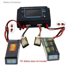 HTRC T240 DUO AC 150W DC 240W 10A Touchscreen Dual Kanal Batterie Balance Ladegerät Entlader Für RC modelle Spielzeug