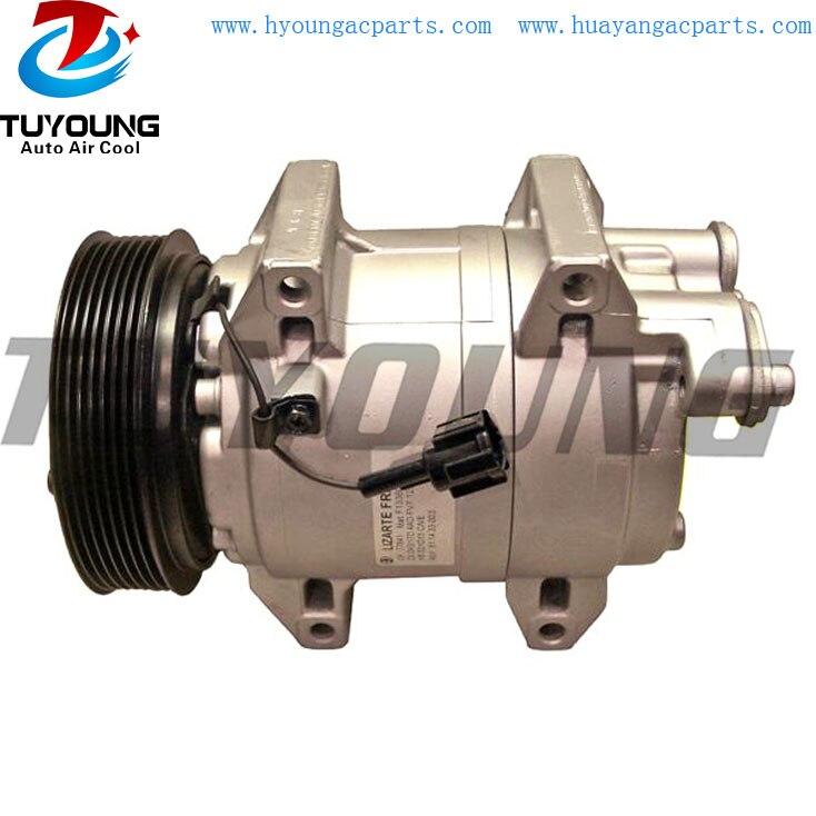Compresor de CA para coche DKS-17D para Nissan Renault Z0004761A Z0004762 92600MA000 92600-MA000 92600-MA00A 92600-MA00C auto bomba de aire