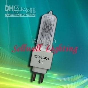 Disco Light Party G15 230v 1000w Rotating Multi Flash Decor dance Lamp Quartz Lamp New