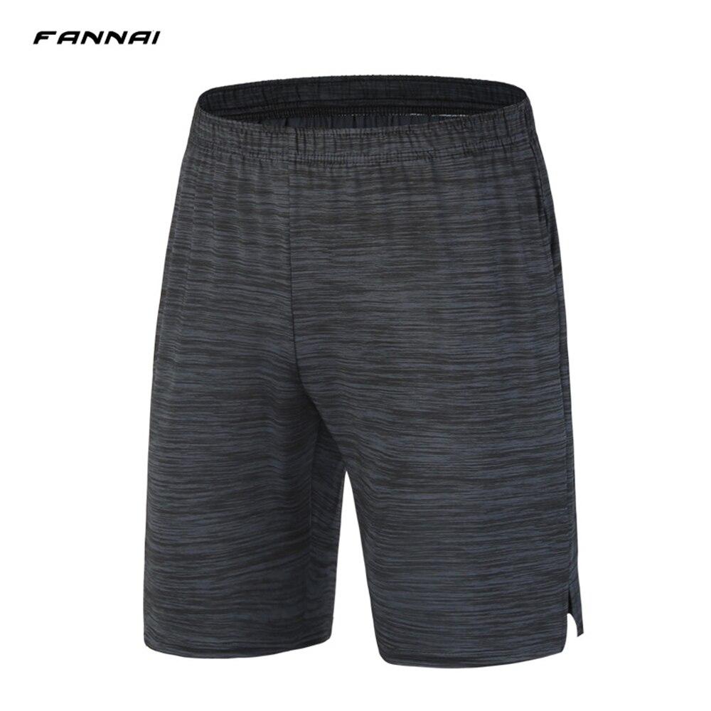 Pantalones cortos de deporte para hombre FANNAI, pantalones cortos de verano para correr, Bolsillo elástico, entrenamiento, Fitness, camiseta de fútbol, ropa deportiva, pantalones cortos de baloncesto para hombre