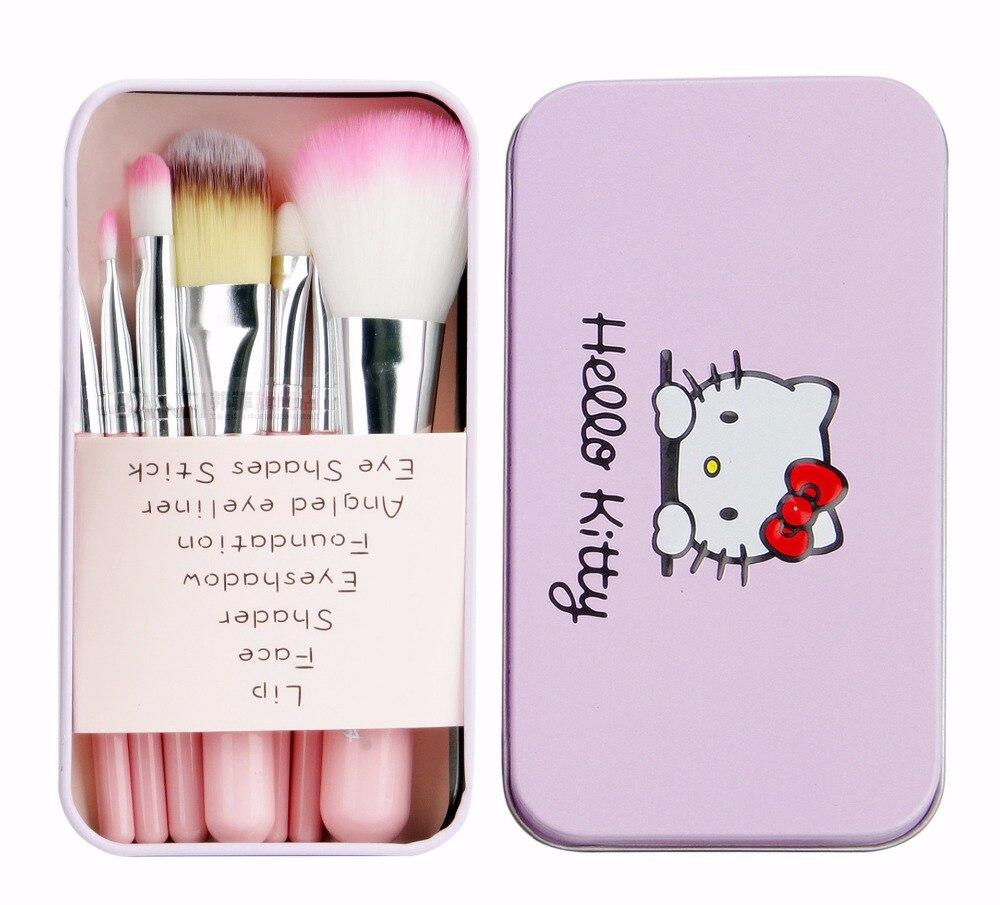 5pcs/set bjd cosmetic brush Makeup DIY Tools 1/6 doll blyth change tools for blyth change makeup brush sd doll accessories