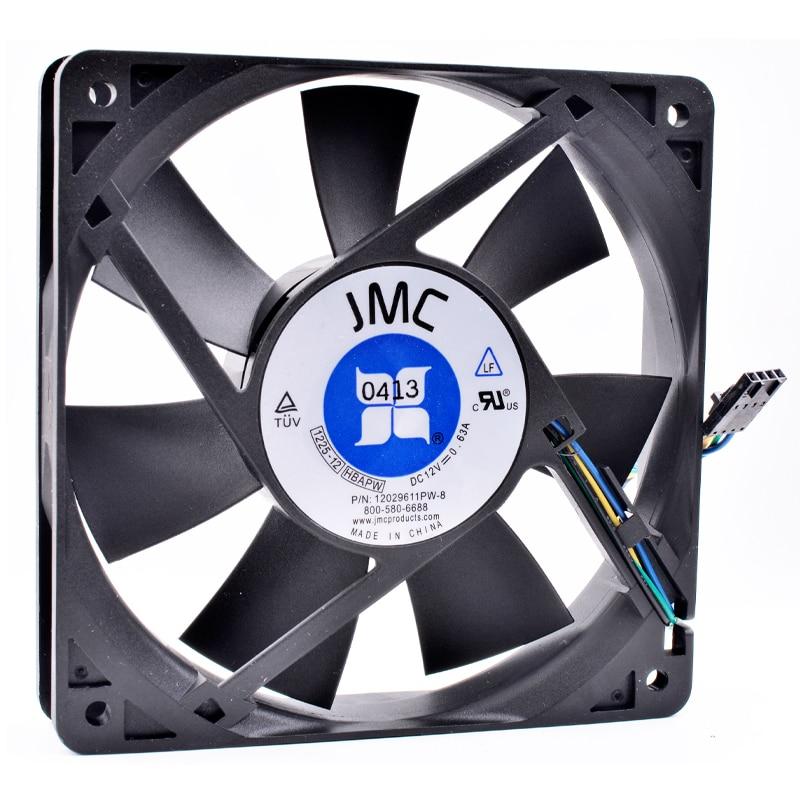 Brand new original ANCHAOPU 1225-12 HBAPW 12cm 120mm fan DC12V 0.63A Dell server large air volume cooling fan