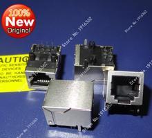 Connecteur de protection Jack femelle RJ11 6P6C   1000 pièces/lot, connecteur de téléphone LAN à Angle droit 6P modulaire