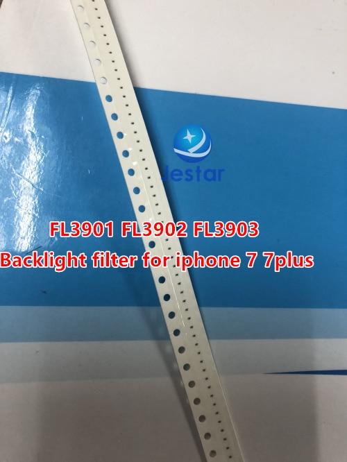 20-100 unidades FL3901 FL3902 FL3903 fusible de filtro de luz de fondo para iphone 7 7plus fusibles filtros placa base