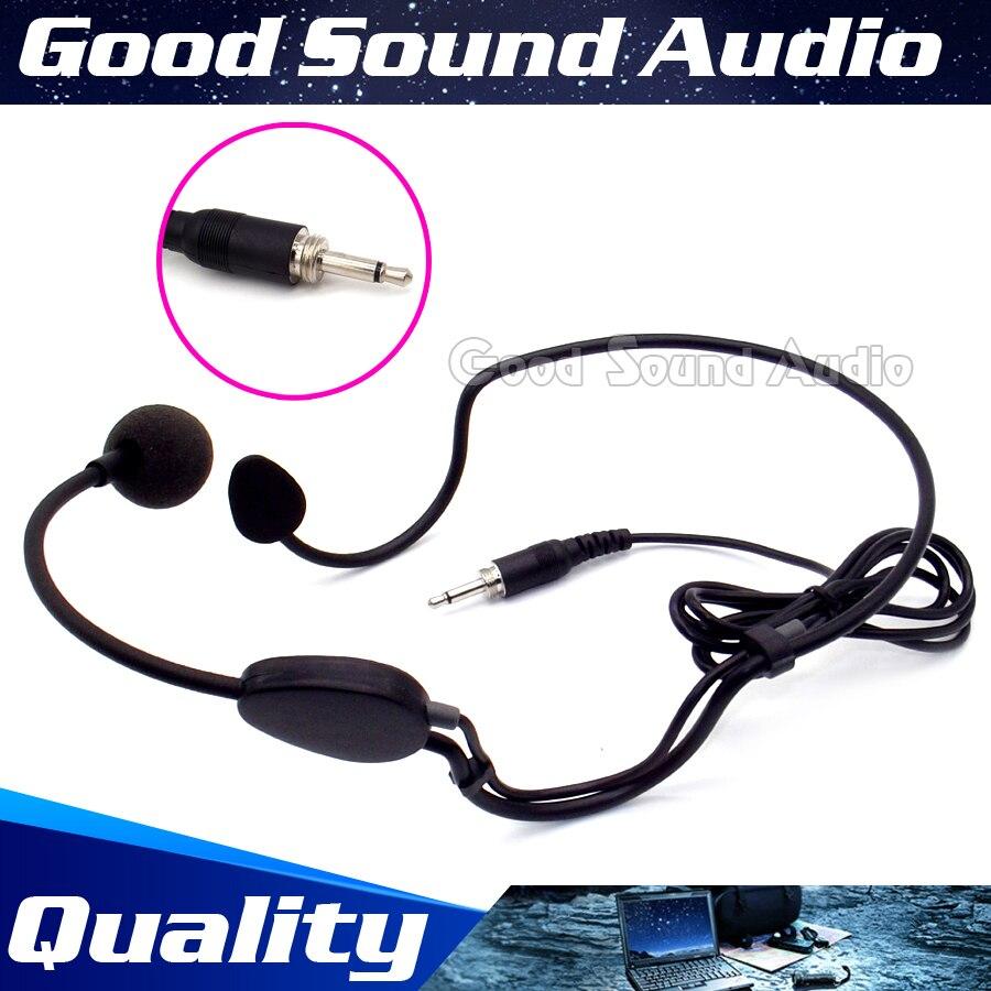 Microfone para o Sistema de Karaokê sem Fio Parafuso Plugue Mikrafon Headworn Microfone Condensador Wired Headset Transmissor Portátil 5 Pcs 3.5mm