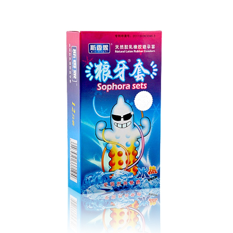 Paquete de Preservativos de látex Natural para hombre, paquete de Preservativos de...