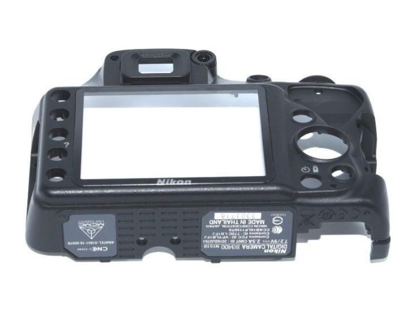 جديد الأصلي غطاء كاميرا لنيكون D3400 الخلفية الغطاء الخلفي مع نافذة استبدال إصلاح جزء