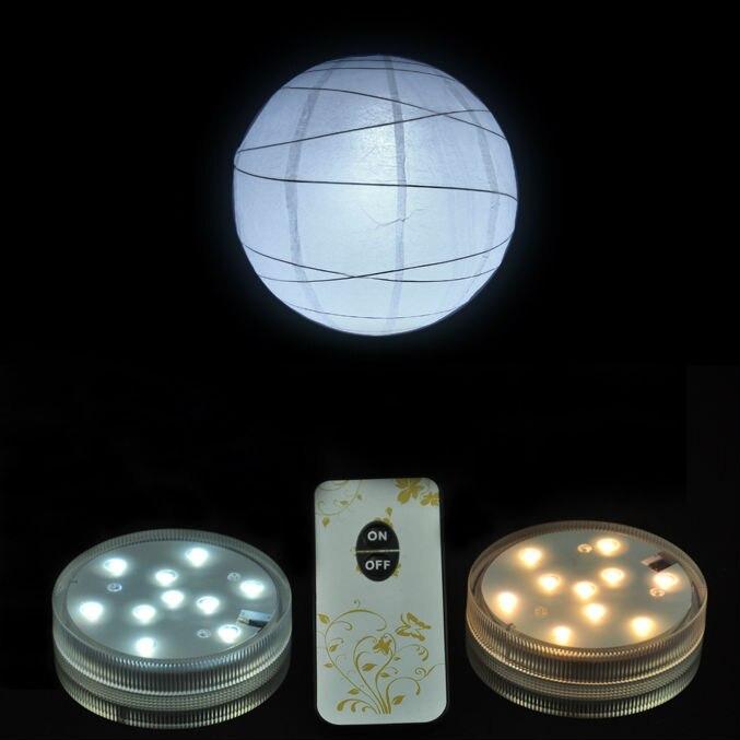 Waterproof LED Pool Lights Submersible LED Tea Light Under Vase Base Decoration White/ Warm White/ RGB Color Changing