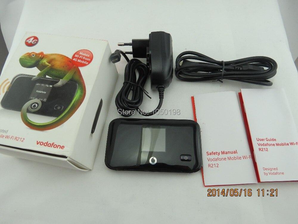 Vodafone r212 lte mifi router