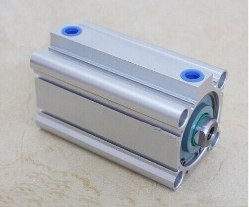 Diámetro del agujero 63mm * 15mm carrera compacta CQ2B serie cilindro neumático compacto de aleación de aluminio