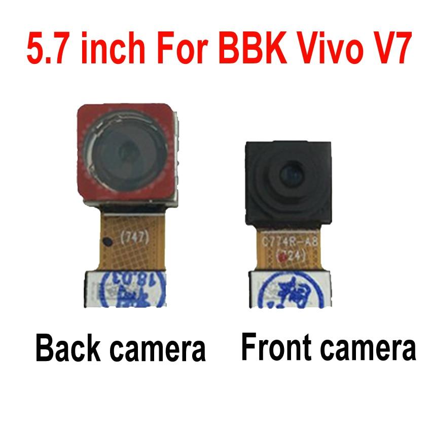 LTPro de calidad superior gran módulo de cámara trasera principal Cable flexible para BBK Vivo V7 pequeña cámara frontal reemplazo de teléfono partes