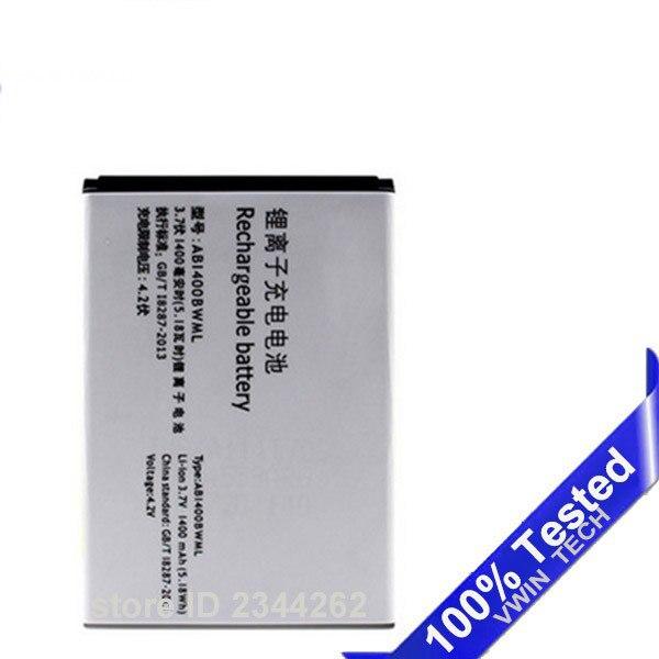 Протестированный новый аккумулятор AB1400BWML для PHILIPS S308 CTS308 для Xenium 1400 мАч, полный номер для отслеживания емкости