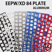 Алюминиевая механическая клавиатура XD84 eepw84, поддержка xd84 eepw84, 75% печатных плат