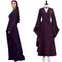 melisandre cosplay costume dress outfit high quality cospaly gown suit halloween carnival party fancy suit