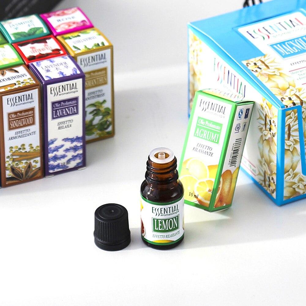 12 botellas de 10ml de planta aromática, aceite esencial de aromaterapia, hierbas...