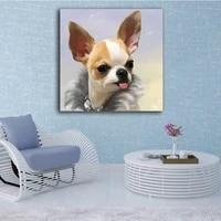 Peinture de diamant a mosaique de Chihuahua  broderie de chien  decoration pour maison  cadeau de loisir creatif  nouvelle collection