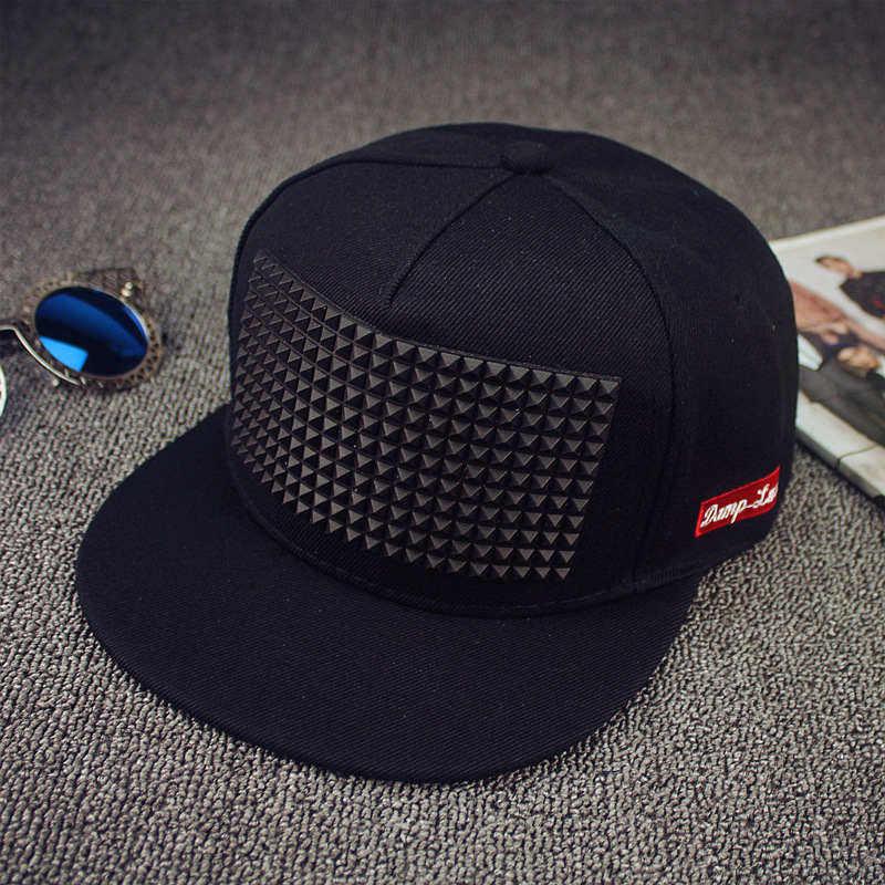 5 colores nueva gran oferta gorra de béisbol triangular de plástico gorra de hip hop gorra de ala plana gorra con Cierre trasero sombreros para hombres y mujeres