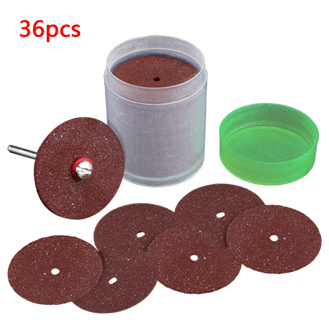 36 pçs disco de corte lâmina serra circular roda de moagem para dremel ferramenta rotativa abrasiva lixar disco ferramentas corte madeira metal