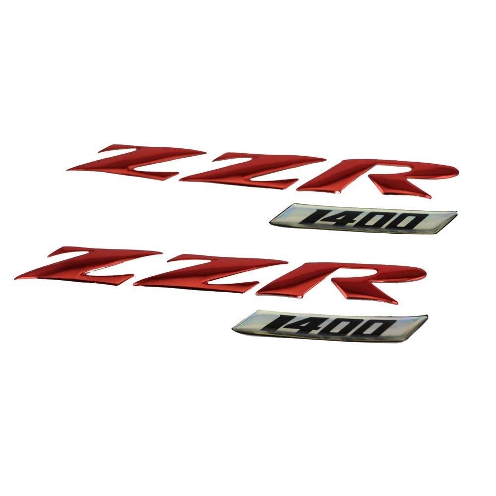 KODASKIN motocicleta 3D ZZR Raise carbono 1400 emblema pegatinas pegatina para Kawasaki ZZR1400