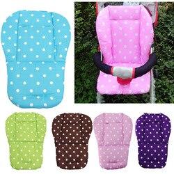 14 farben Baby Kinderwagen Sitzkissen Kinderwagen Hohe Stuhl Kinderwagen Auto Weiche Matratzen Baby Wagen Sitz Pad Kinderwagen Matte Zubehör