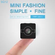 SQ12 Waterproof Mini Camera HD 1080P Infrared Night Vision Camcorder 155 Degree Wide Angle WiFi DVR Video Recorder CMOS Sensor