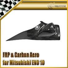 Promotion de style de voiture pour Mitsubishi Evolution EVO 10 fibre de carbone a-pilier simple jauge Pod (LHD) 52mm en Stock