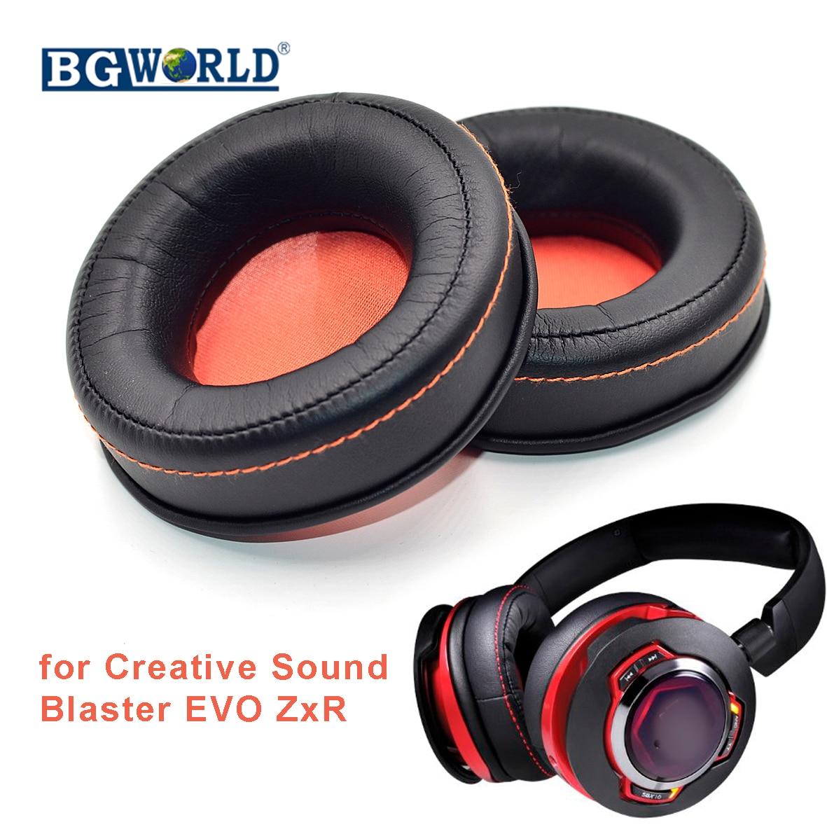 BGWORLD Replacement Ear pads foam cushion for Creative Sound Blaster EVO ZxR Entertainment Headphone
