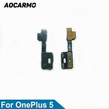 Aocarmo Mute Button Switch Volume Flex Cable For OnePlus 5 A5000 Replacement
