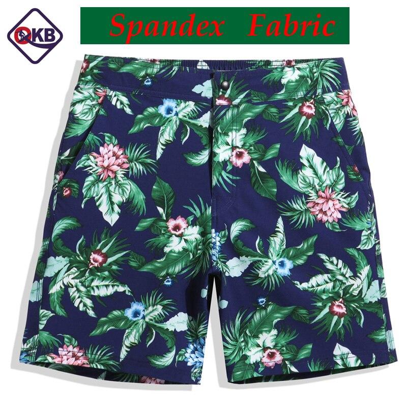 QIKERBONG 2017, новые мужские пляжные шорты, бермуды, мужские пляжные шорты, повседневные шорты для бега, трусы-боксеры, эластичная ткань