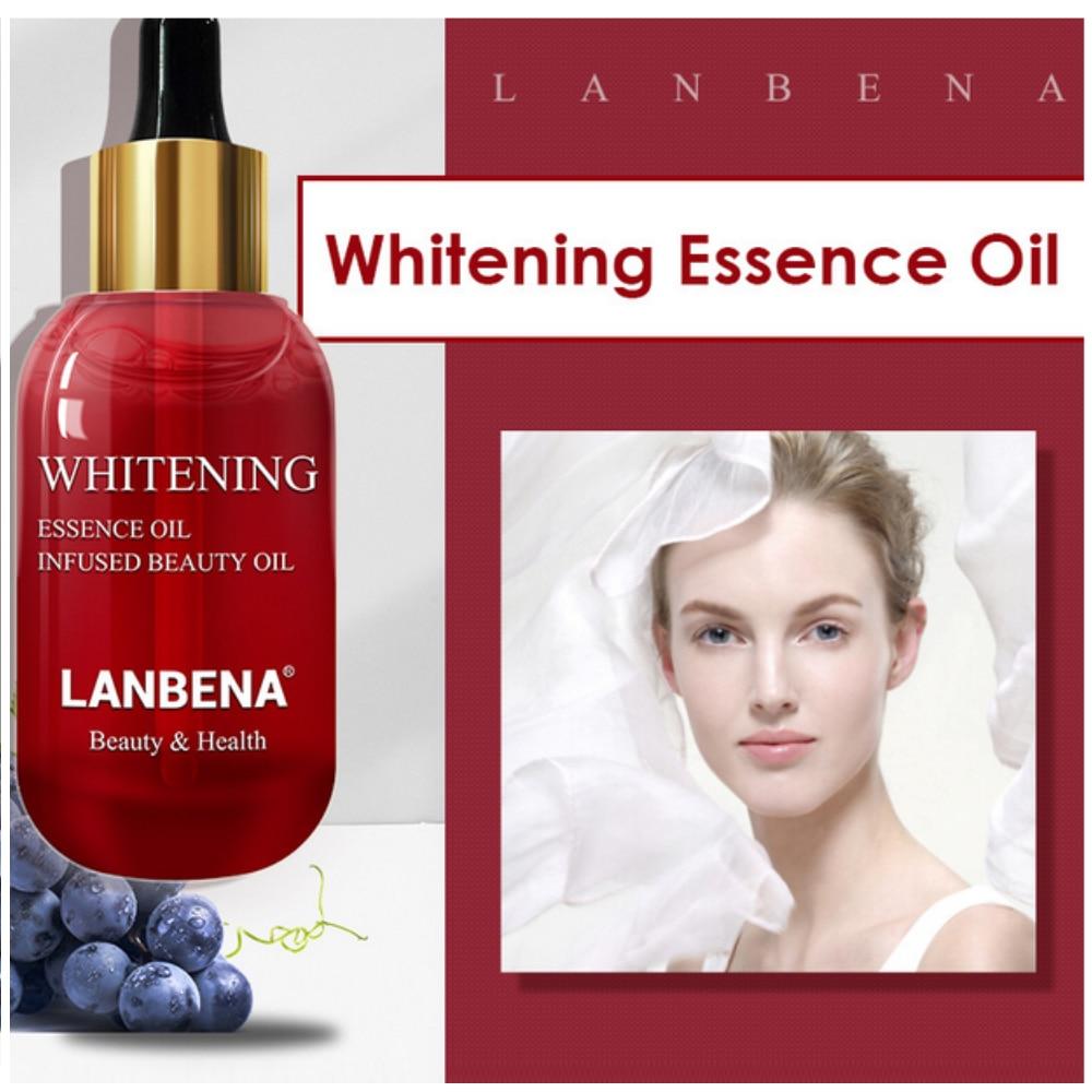 Whitening Essential Oil Vitamin C Skin Serum Hyaluronic Acid Repair Oil For Remove Speckle Fade Dark Spots Firming Anti-Aging