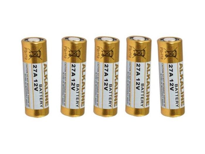 5 unids/lote 12V 27A MN27 27A L828 A27 Super Batería alcalina para timbre Control remoto linterna, Etc.