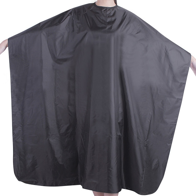 1pc pro adulto à prova dwaterproof água corte de cabelo cabeleireiro barbeiros cabo vestido pano pro