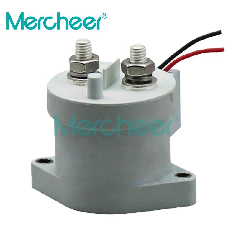 12-24 V 36-48 V 60-72 V 84-96 V MEV200A 500 + Amps, SPST-NO 5-900VDC Contator de Relé/Relé
