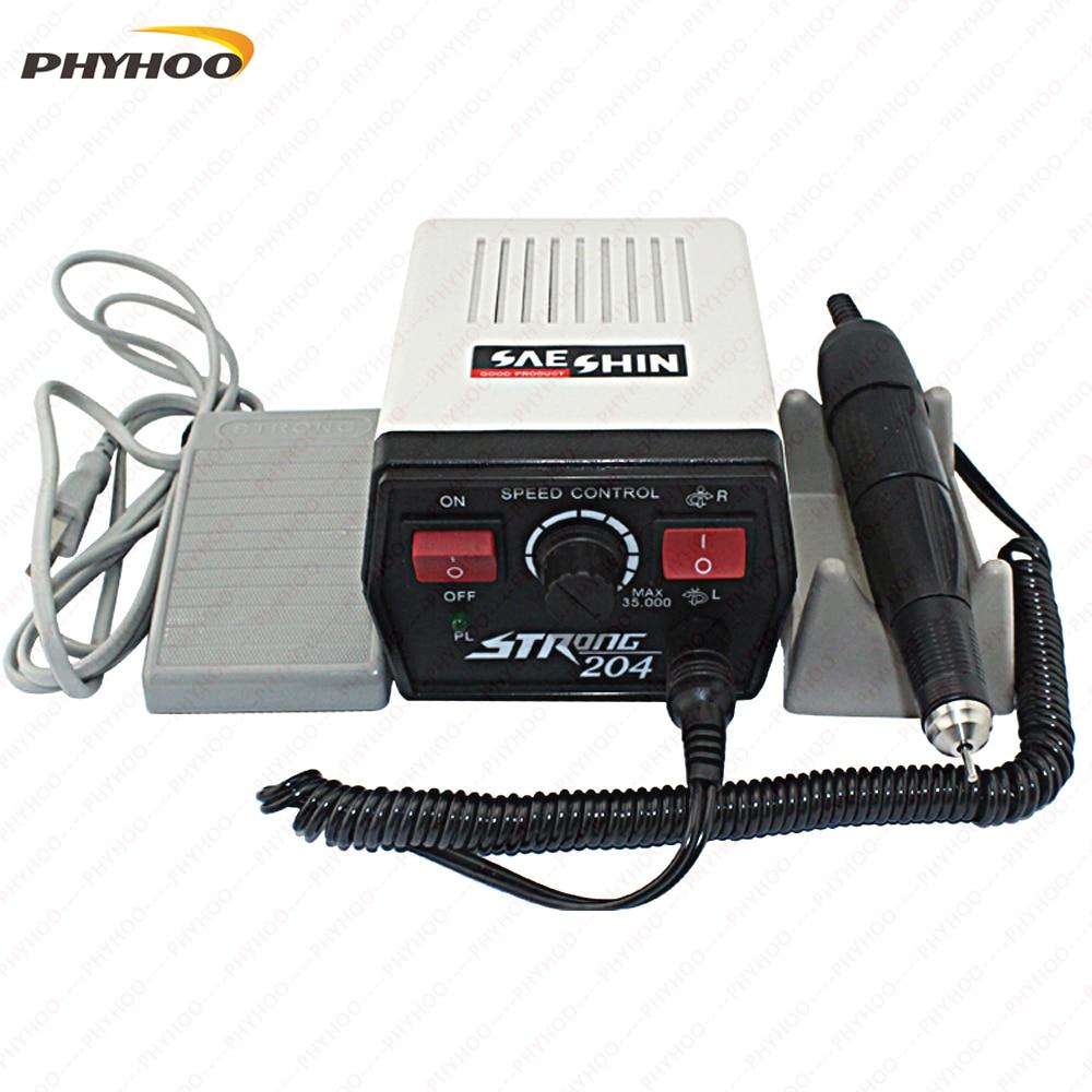 Micromotor strong 204 Dremel polishing motor,jewelry polishing machine,dental polishing motor 220v