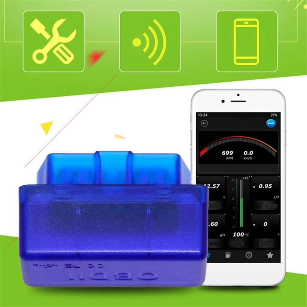 Hot Sale Super Mini Bluetooth2.0 Car Diagnostic Tool For Android Windows New Arrival