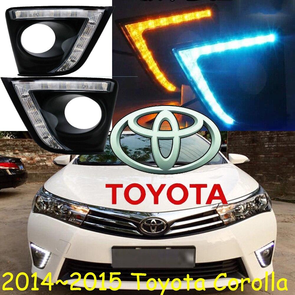 LED, 2014 ~ 2015 Corolla дневные фары, Corolla Противотуманные фары, Corolla фары; vios, corolla, camry, Hiace, tundra, sienna, yaris